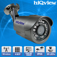 HIQ-6486 Wireless 4-Megapixel Outdoor Security IP Camera