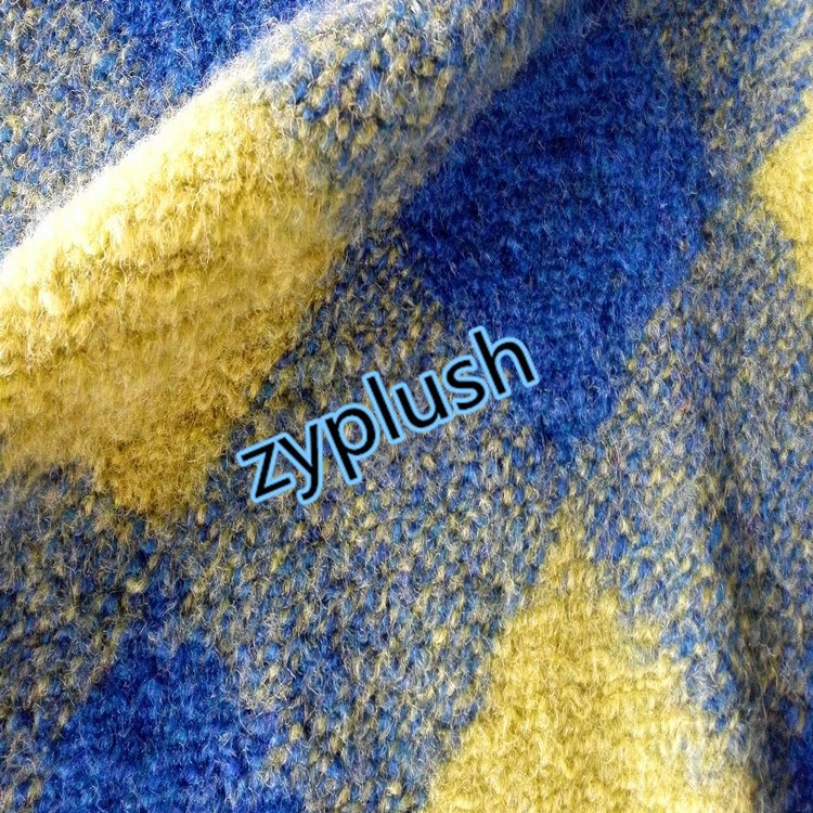 FY150419 Knit Wool Sweater Fabric for Winter Coat