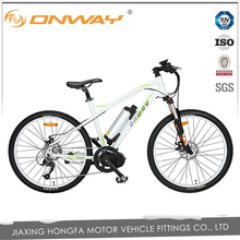 36v 250W Mid motor wholesales electric Mountain bike