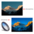 Grad blue/grad grey/ND8/CPLfilter +16mm HD wide angle lens for mobile phone APL-16MMS 6 in 1 cell phone camera lens kit