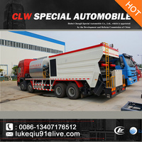 HOWO 340hp big high efficient howo road paver truck for sales