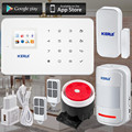 KERUI brand anti-thief alarm system and GSM Alarm System Android IOS APP