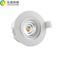 Lepu Norge 83mm cutout 360deg rotation dim2wam Gyro downlight directly installation in insulation