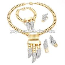 Big costume jewelry sets dagger shape