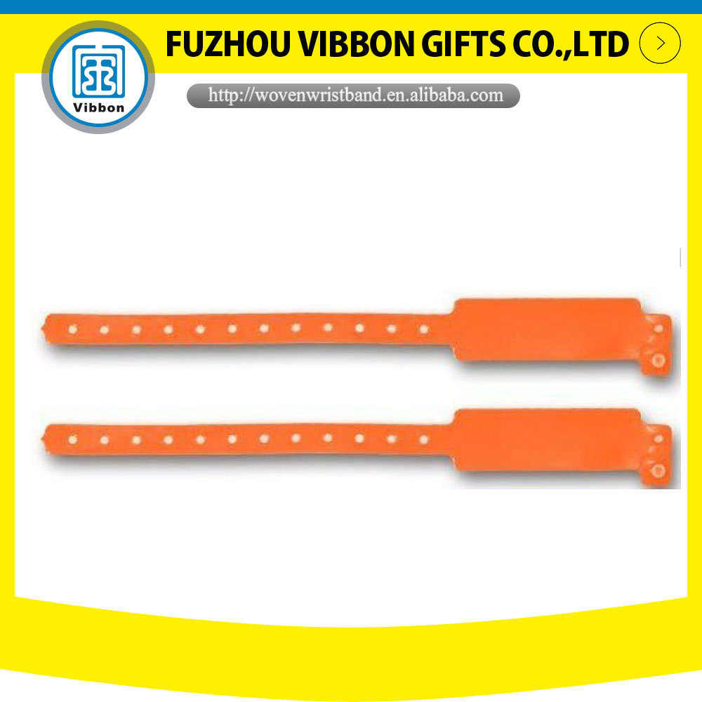 promotional custom printed vinyl wristband soft pvc bands for events