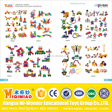 European standard popular Safety material plastic and wooden educational toys for kids from China