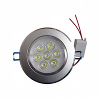 7W led Ceiling Light spotlight AC110V 220V Epistar led lamp beads led down lights home lighting