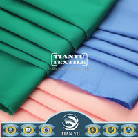 Wholesale 100% Cotton Plain Solid Dyed Fabric / Textile From Alibaba China