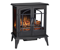 Black 3D Decor Flames Electric Infared Fireplace Heater /Fireplace Stove