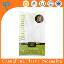 Pillow Box Clear Packaging Box PP Plastic Box