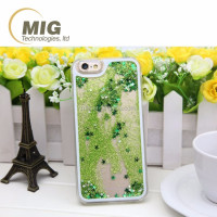 hot Quicksand stars Mobile phone case For Samsung galaxy S6 case. pc hard Phone accessory For Samsung S5 case