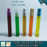 10ml spray perfume glass bottle