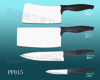4pcs functional kitchen knife set with PP handle