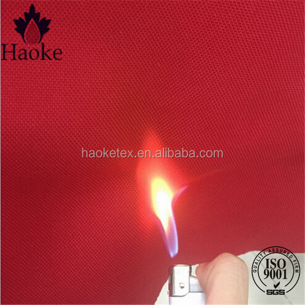 100% polyester waterproof cpai-84 fire retardant standard fabric for tent