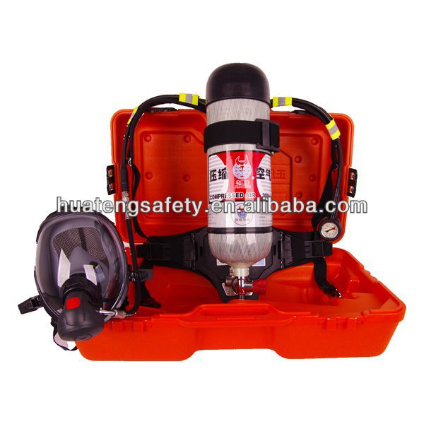 New product 6.8L forest fire fighting SCBA price with Carbon Fiber Cylinder security and safety equipment