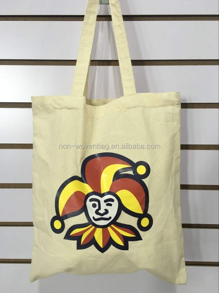 Wholesale 100% cotton tote bag, cotton cloth carry bag for shopping