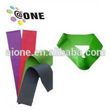 custom logo rubber resistance band mini loop booty stretch band