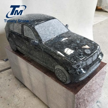 Europe style grave stone car sculpture headstone price
