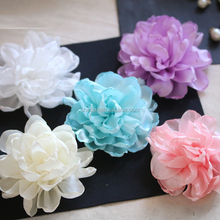 Handmade Fashion Fabric Flower Artificial Decorative Flowers