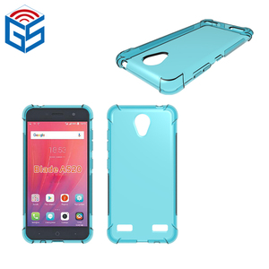 Full Clear Transparent Soft Skin TPU Case For ZTE Blade A520 Back Cover