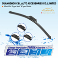 Windshield Car Automobile Wiper Blade Bracketless Rubber Strip Arm Blade