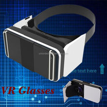 2016 HD VR BOX 2.0 Virtual Reality Glasses 3D vr headsets with Bluetooth Remote Controller