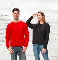 China Suppliers Wholesale Crewneck Mens Plain Sweatshirt