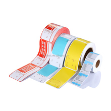58 x 60 mm UPC/Safe Handling CAS LST-8040 Printing Scale Label