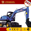 mini excavator used low prices yugong wheel excavator WYL65/WYL165/WYL70/WYL4-8/WYL5-6 for sale in stock