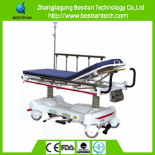 BT-TR006 With weighing scale luxurious hydraulic x ray stretcher