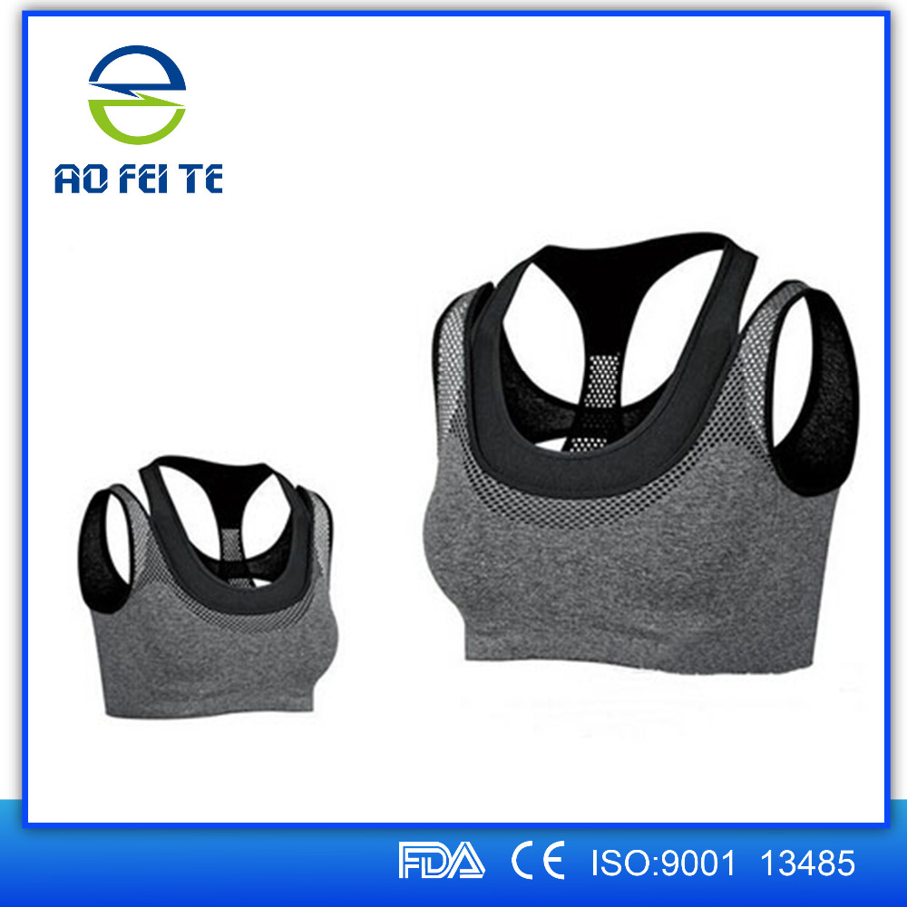 China Sexy Padded Sports Bras Wire Free High Impact Support Seamless Yoga bra With Work Out Sport