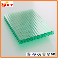 greenhouses china polycarbonate solar panels with uv coated