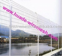 railway curved fencing/temporary fencing for dogs