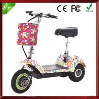 CE Portable electric scooter Li-ion battery myway scooter
