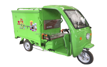 three wheel Courier Express electric motorcycle/ electric cargo Delivery Tricycle