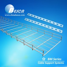 Besca Suppliers Zinc Plated Steel Wire Mesh Cable Tray Systems