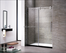 Canada 8mm Temper Glass bathroom walk in large shower enclosers