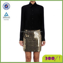 Fascinating bling sequince mini New Design Sequin Skirts