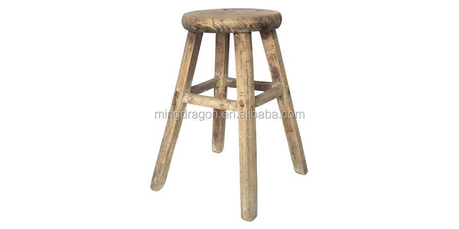 Chinese Antique Rustic Natural Solid Wood Stool Buy