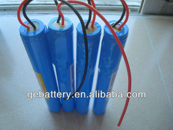 AA ER14505 3.6V 2400mah battery pack 3S1P