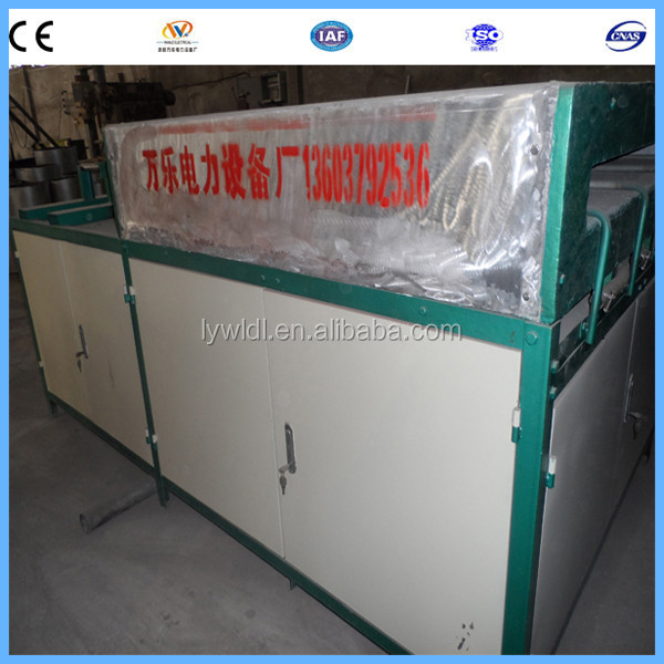 iron billets heat treatment induction heating furnace machine heater