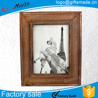 fancy collage fashion rimless white wholesale wooden photo frame