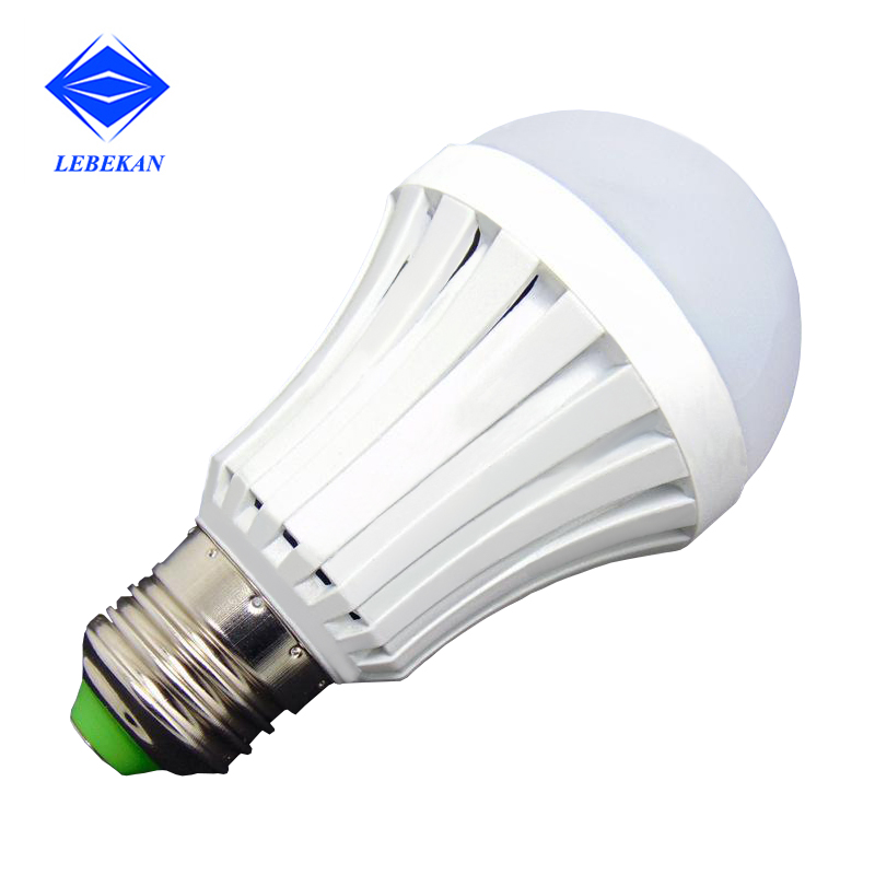 Factory price battery rechargeable 5w 7w 9w 12w warm white emergency led lights bulbs