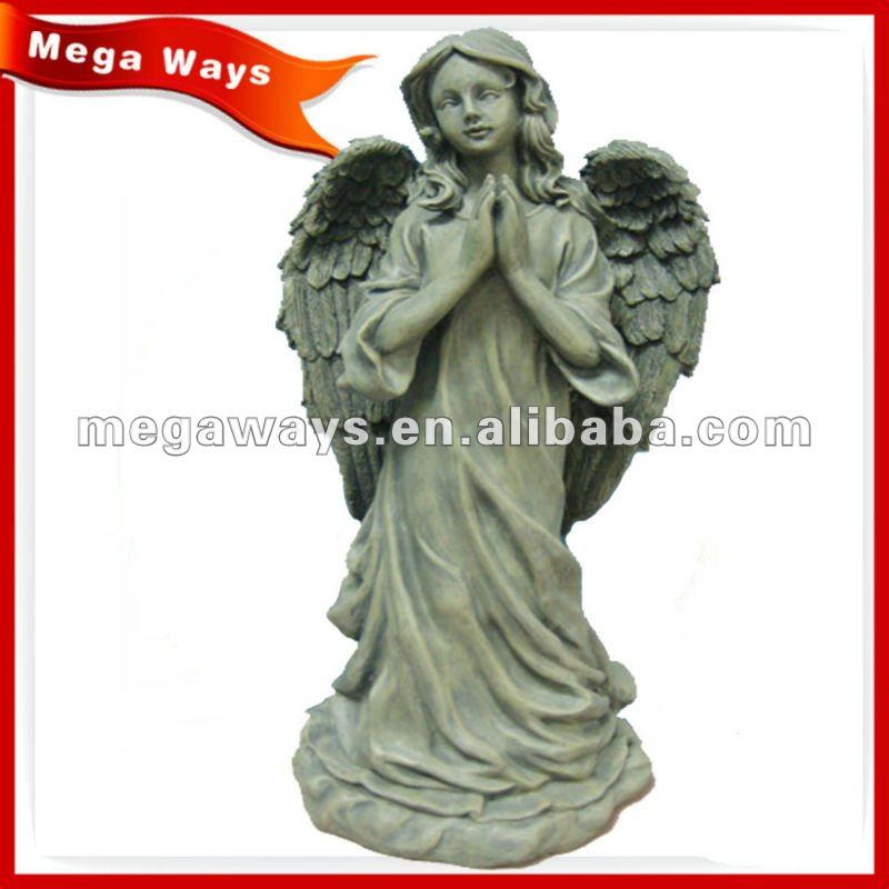 special standing resin angel figure for gift