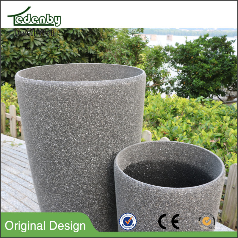 new product alibaba china supplier home decor garden plant stone flower pot