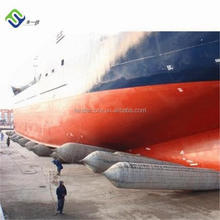 Underwater inflatable rubber bag, ship lifting air bag