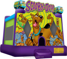 Inflatable Scooby Doo bounce