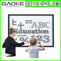 Gaoke 50 inch to 120 inch School infrared interactive whiteboard for sale cheap price