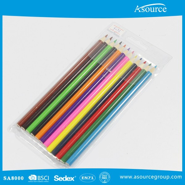 Round Drawing Color Pencil For Children