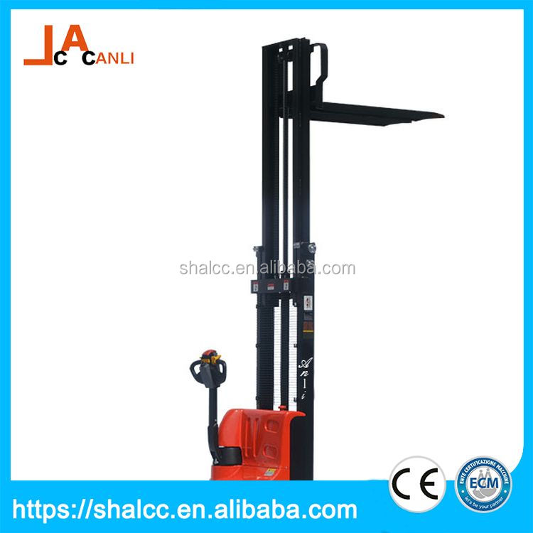 Super quality alibaba china small mini electric pallet stacker